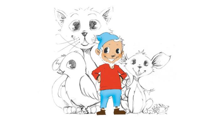 Pinkeltje Animation Graphic_Retail_Design_Studio_Drawingroom